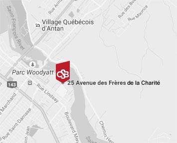 Map Collège Saint-Bernard